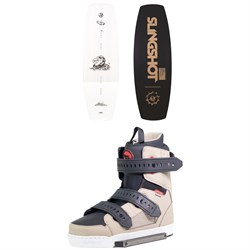 Slingshot Shredtown Wakeboard ​+ Shredtown Wakeboard Bindings 2019