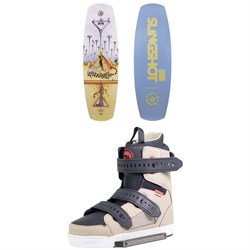 Slingshot Coalition Wakeboard ​+ Shredtown Wakeboard Bindings 2019