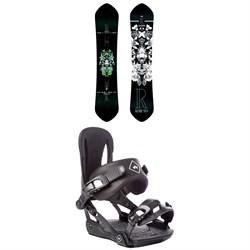 Rome Kashmir Snowboard - Women's + Rome Strut Snowboard Bindings - Women's
