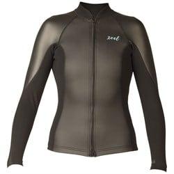 XCEL Axis 2/1 Smoothskin Long Sleeve Front Zip Wetsuit Jacket - Women's