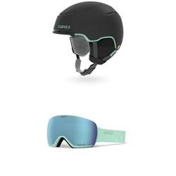 Giro Terra MIPS Helmet - Women's + Giro Lusi Goggles - Women's