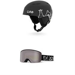Giro Emerge MIPS Helmet + Giro Axis Goggles