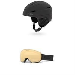 Giro Strata MIPS Helmet - Women's + Giro Eave Goggles - Women's