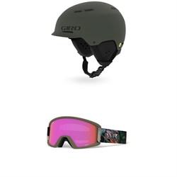 Giro Trig MIPS Helmet + Giro Dylan Goggles - Women's