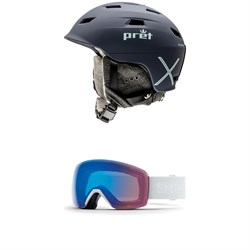 Pret Haven X Helmet - Women's ​+ Smith Skyline Goggles