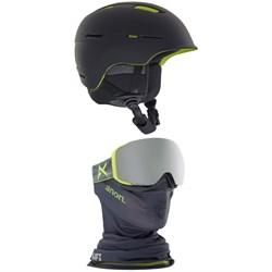 Anon Invert MIPS Helmet + Anon M2 MFI Goggles