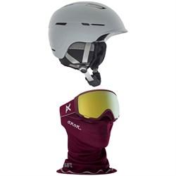 Anon Auburn MIPS Helmet - Women's + Anon WM1 MFI Goggles - Women's