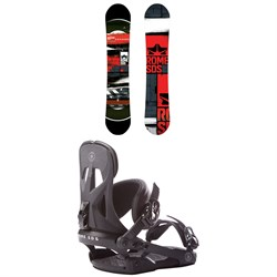 Rome Mechanic Snowboard + Rome Arsenal Snowboard Bindings