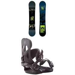 Rome Factory Rocker Snowboard  ​+ Rome Arsenal Snowboard Bindings