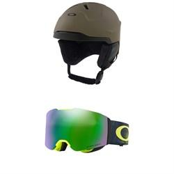 Oakley MOD 3 Helmet + Oakley Fall Line Goggles