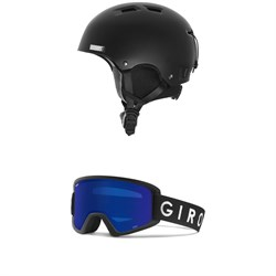 K2 Verdict Helmet + Giro Semi Goggles