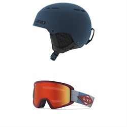 Giro Combyn Helmet + Giro Semi Goggles