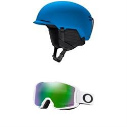 Smith Scout Jr Helmet - Kids' + Oakley Line Miner Goggles - Kids'