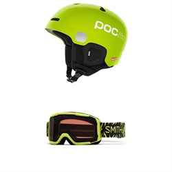 POC Pocito Auric Cut SPIN Helmet - Kids' ​+ Smith Daredevil Goggles - Big Kids'