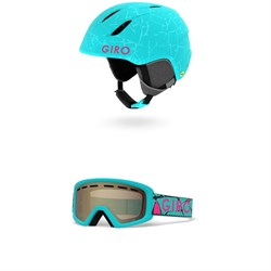 Giro Launch MIPS Helmet - Little Kids' ​+ Giro Rev Goggles - Little Kids'