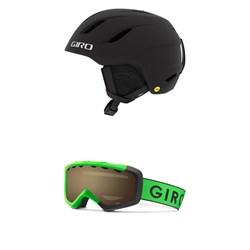 Giro Nine Jr. MIPS Helmet - Big Kids' + Giro Grade Goggles - Big Kids'