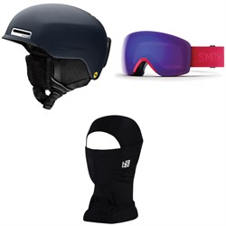 Smith Allure MIPS Helmet - Women's ​+ Smith Skyline Goggles ​+ BlackStrap The Hood