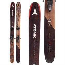 Atomic Backland Bent Chetler Skis + Marker Jester 16 ID Ski Bindings  - Used