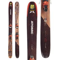 Atomic Backland Bent Chetler Skis + Salomon STH2 13 WTR Ski Bindings  - Used