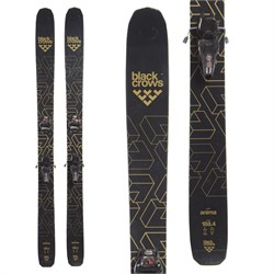 Black Crows Anima Skis ​+ Marker Jester 16 ID Ski Bindings  - Used
