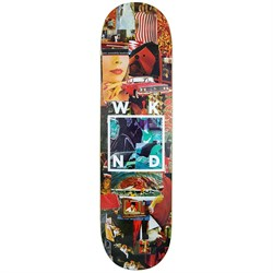 WKND Collage Logo Red 8.3 Skateboard Deck
