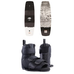 Byerly Wakeboards Brigade Wakeboard ​+ Formula Wakeboard Bindings 2019