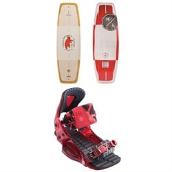 Hyperlite Relapse Wakeboard + The System Pro Wakeboard Bindings 2019