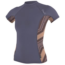 O'Neill Side Print Short Sleeve Rashguard - Women's