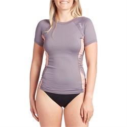 O'Neill Side Print Short Sleeve Rashguard - Women's