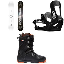 Bataleon Goliath X BYND MDLS Snowboard + Switchback Smith Snowboard Bindings + DC Mutiny Snowboard Boots 2019