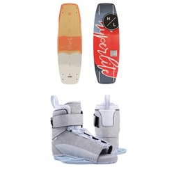 Hyperlite Prizm Wakeboard ​+ Hyperlite Viva Wakeboard Bindings - Women's 2019