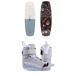 Hyperlite Maiden Wakeboard ​+ Viva Wakeboard Bindings - Women's 2019