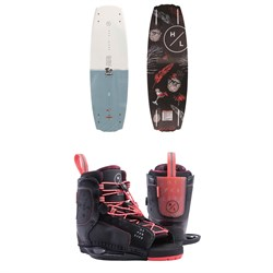 Hyperlite Maiden Wakeboard ​+ Jinx Wakeboard Bindings - Women's 2019
