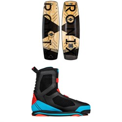 Ronix Darkside Intelligent 2 Wakeboard ​+ Supreme Wakeboard Bindings 2019