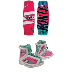 Ronix August Wakeboard ​+ August Wakeboard Bindings - Girls' 2019