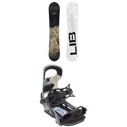 Lib Tech Skate Banana BTX Snowboard + Bent Metal Logic Snowboard Bindings 2019