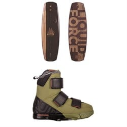 Liquid Force Timba Wakeboard ​+ Vantage IPX Wakeboard Bindings 2019