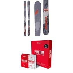 Nordica Enforcer 93 Skis 2019 + DPS Phantom 2.0 Base Glide Treatment