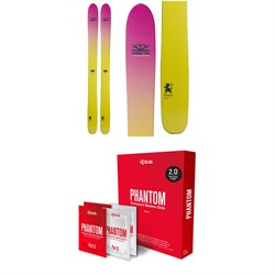 DPS Yvette 112 Foundation Skis - Women's 2019 ​+ DPS Phantom 2.0 Base Glide Treatment