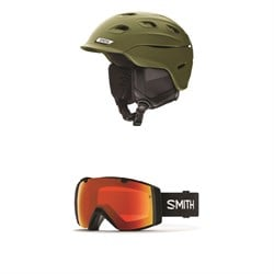Smith Vantage MIPS Helmet  ​+ Smith I​/O Goggles