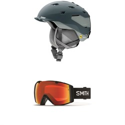 Smith Quantum MIPS Helmet ​+ Smith I​/O Goggles