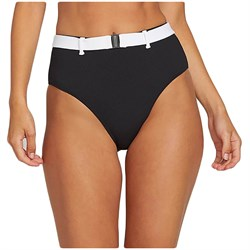 Volcom Simply Rib Retro Bikini Bottoms - Women's