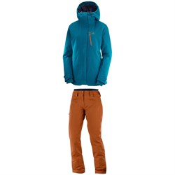 Salomon QST Snow Jacket + QST Snow Pants - Women s  549.90  412.42 Sale e79fb33b3