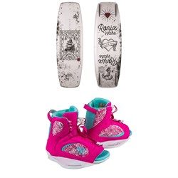 Ronix Quarter 'Til Midnight Wakeboard - Blem - ​+ Luxe Wakeboard Bindings - Women's
