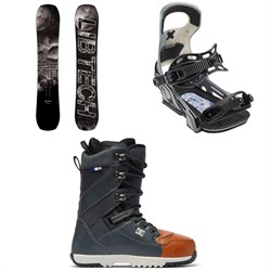 Lib Tech Box Knife C3 Snowboard ​+ Bent Metal Logic Snowboard Bindings ​+ DC Mutiny Snowboard Boots 2019