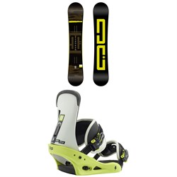 DC Focus Snowboard + Burton Freestyle Snowboard Bindings 2019