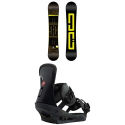 DC Focus Snowboard ​+ Burton Freestyle Snowboard Bindings