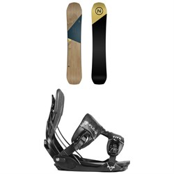 Nidecker Escape Snowboard ​+ Flow Five Fusion Snowboard Bindings