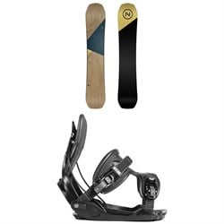 Nidecker Escape Snowboard ​+ Flow Alpha Snowboard Bindings