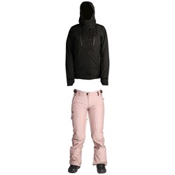Ride Wallingford Shell Jacket - Women's ​+ Ride Roxhill Pants - Women's